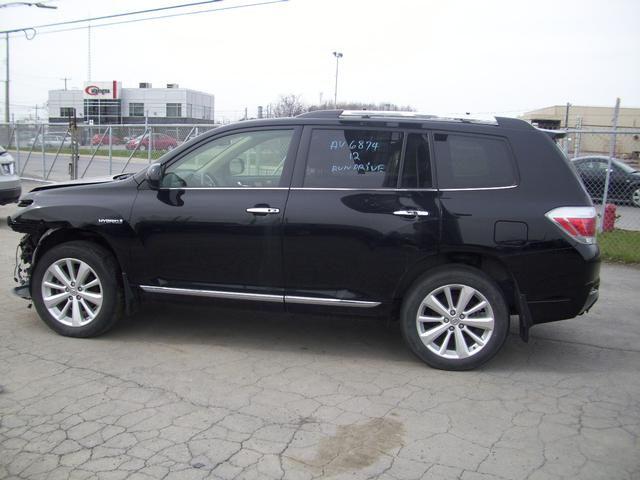toyota highlander hybride v6 4x4 2012 vendre montr al. Black Bedroom Furniture Sets. Home Design Ideas