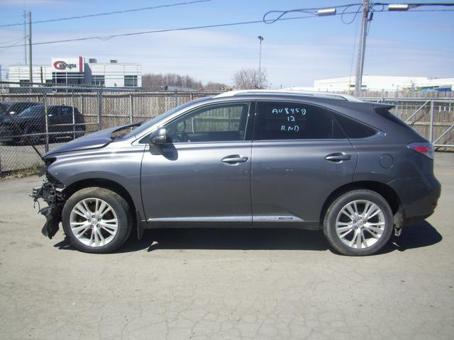 lexus rx450h hybrid 4x4 2012 vendre montr al autos. Black Bedroom Furniture Sets. Home Design Ideas